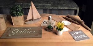 tablescaping Sue Pitchforth Decor Therapy Plus decorating inspiration
