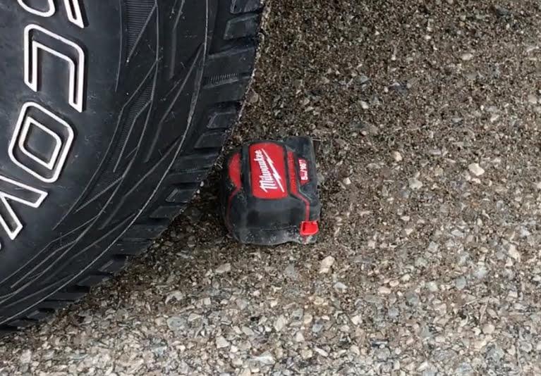 tape measure tire