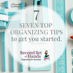 top organizing tips 2