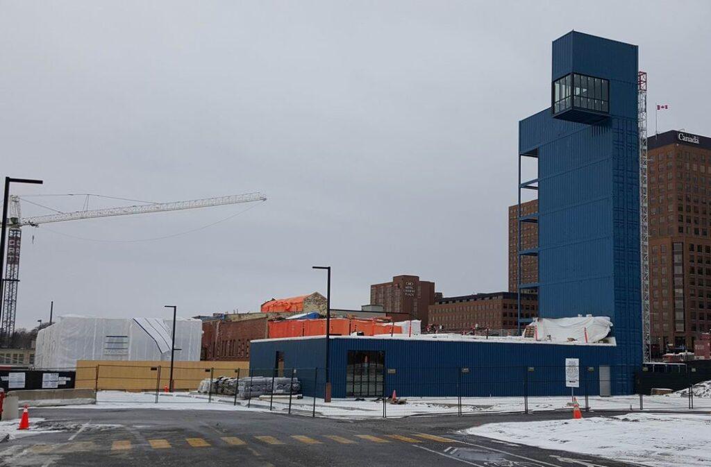 Zibi Ottawa condos sales centre observation tower